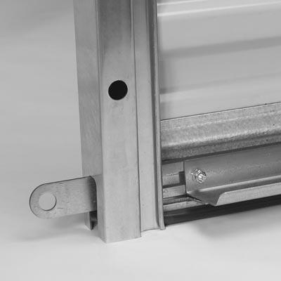 Dual Galvanized Steel Slide Bolt Locks